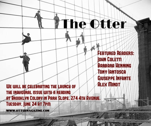 The Otter Launch Party Flyer